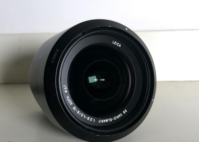 Panasonic LECIA 8-18mm F2.8-4 MFT Lens - 2