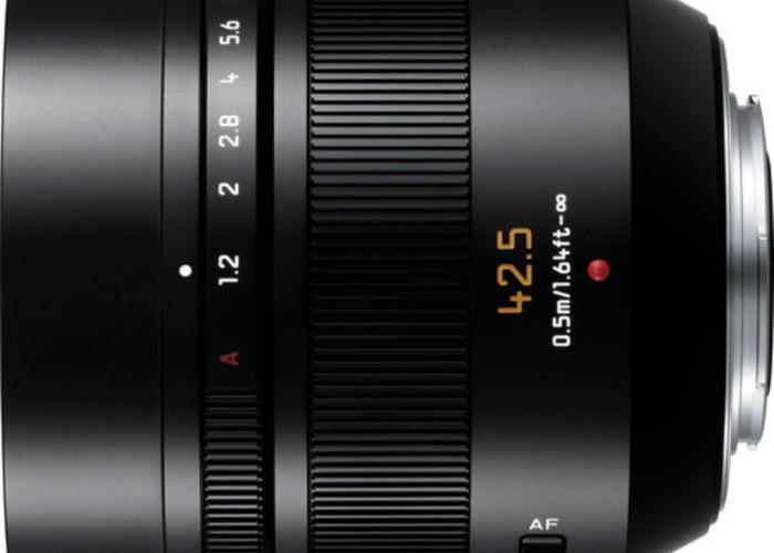 Panasonic Leica 42.5mm f/1.2 ASPH O.I.S Lens - 1
