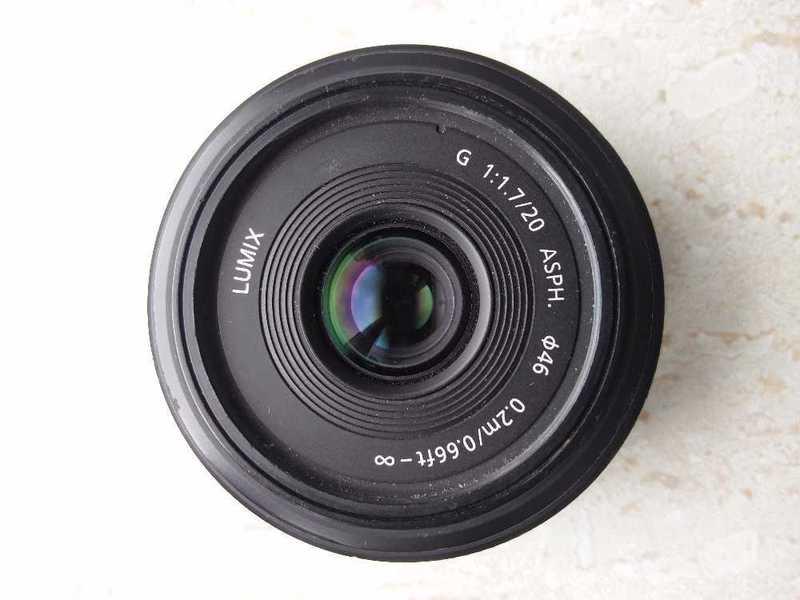Panasonic Lumix G 20mm/F1.7 Pancake Lens - 1
