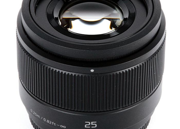 Panasonic Lumix G 25mm F/1.7 ASPH - 1