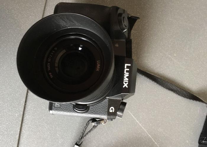 Panasonic Lumix G7 25mm 1.7 Lens - 1
