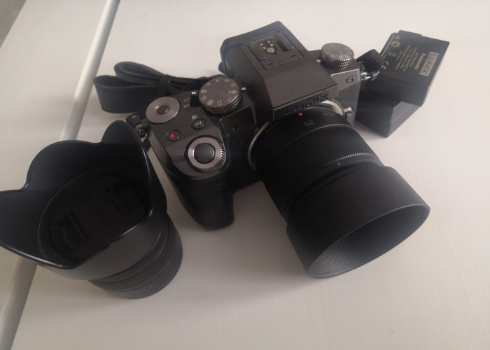 Panasonic Lumix G7 with 14-42 F3.5 and 25mm F1.7 lens - 2