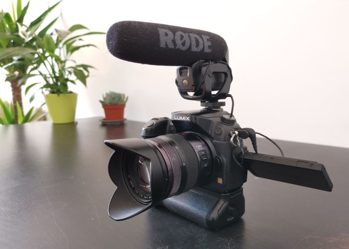 Lumix GH3 Filmmaking Kit: camera, mic, lens + - 2