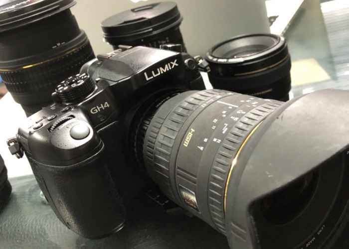 Panasonic Lumix GH4 with Lenses - 1