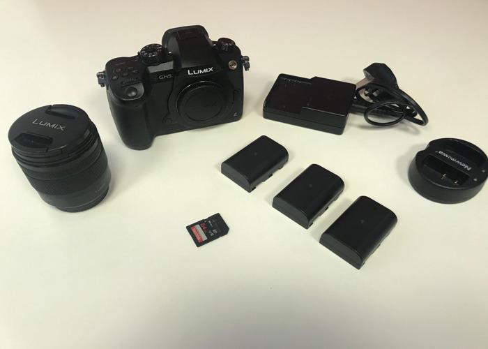 Panasonic Lumix GH5 + 12-60mm f3.5-5.6 lens + 3 batteries - 2