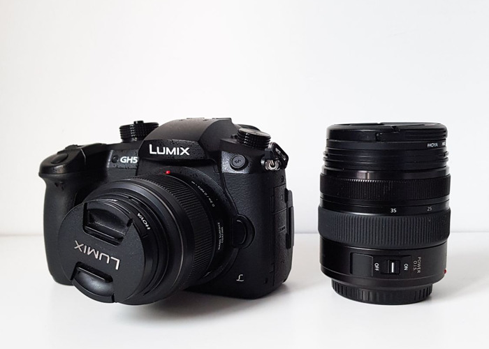 Panasonic Lumix GH5 + Lumix 12-35mm Lens + Lumix 25mm Lens - 1
