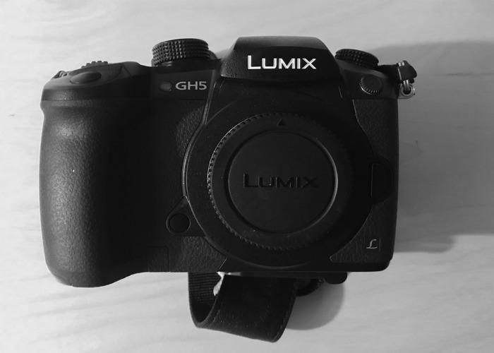 Panasonic Lumix GH5 shooting kit - 1