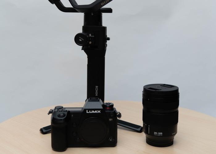 Panasonic Lumix S1 Digital camera body + DJI Ronin S - 1