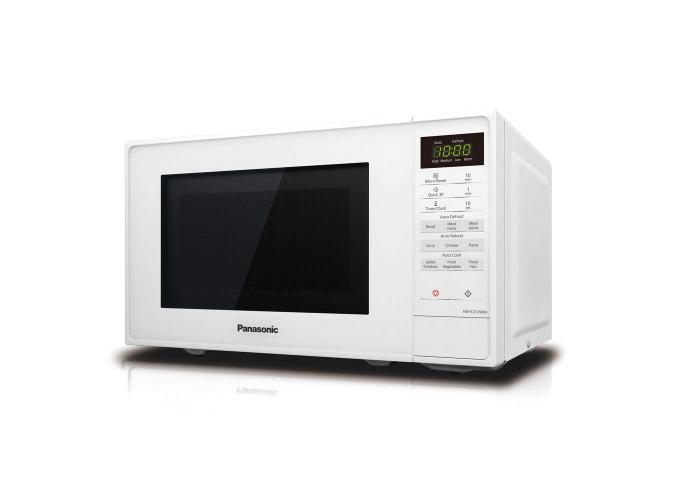 Panasonic NN-E27JWMBPQ Compact Inverter Microwave Oven - White - 1
