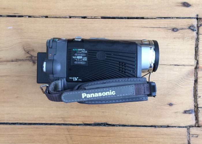 PANASONIC NV-GS70 Mini DV Camcorder w/ FireWire/Thunderbolt - 2