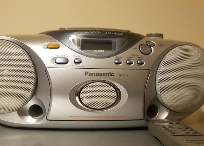 PANASONIC RX-D15, Portable Audio CD system - 1
