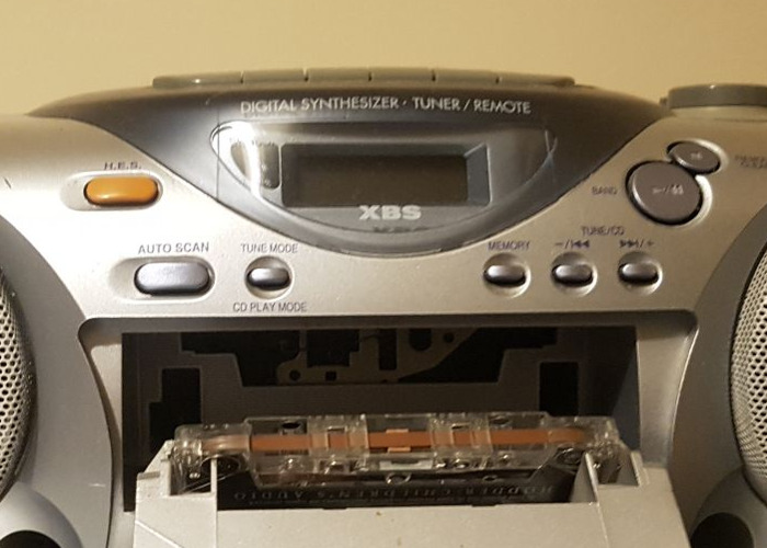 PANASONIC RX-D15, Portable Audio CD system - 2
