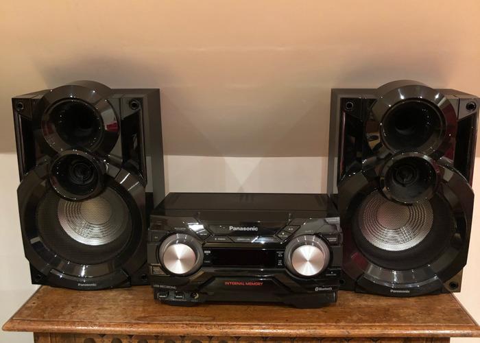 Panasonic SC-AKX400 speakers - 1