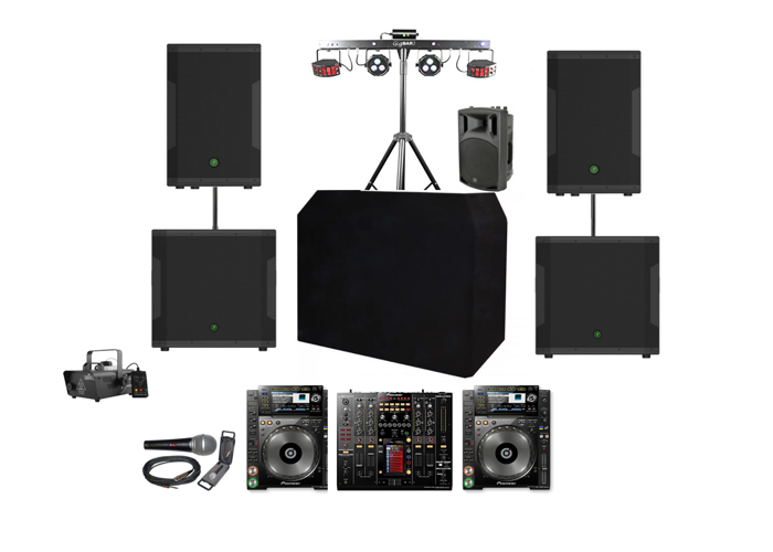 Party / Wedding 6KW Sound system and DJ set up - 1