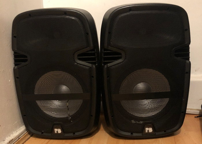 Party in a Box 2x 150 WATTs Speaker - 1