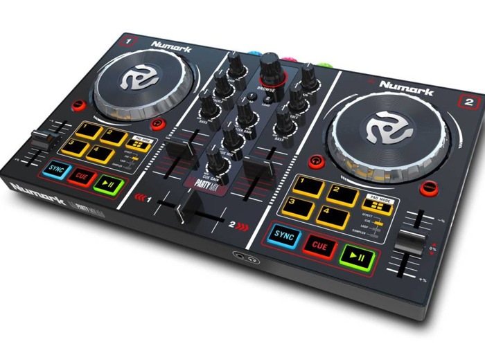 Party Mix DJ Controller with Built In Light Show - 1