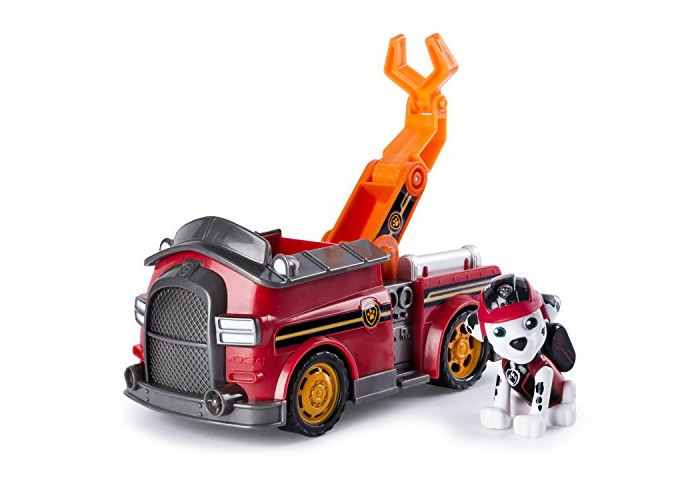PAW PATROL 6037967 PAW Vehicle-Marshall's Mission Fire Truck - 1
