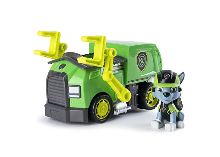 PAW PATROL 6037969 PAW Vehicle-Rocky's Mission Recycling Truck - 1