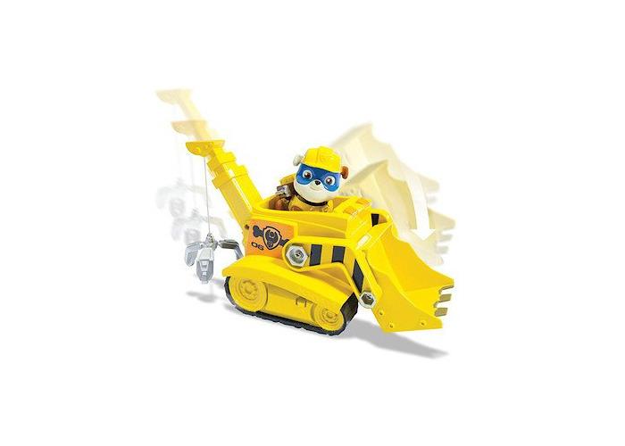 Paw Patrol Bulldozer Crane with Super Pup Rubble - 1