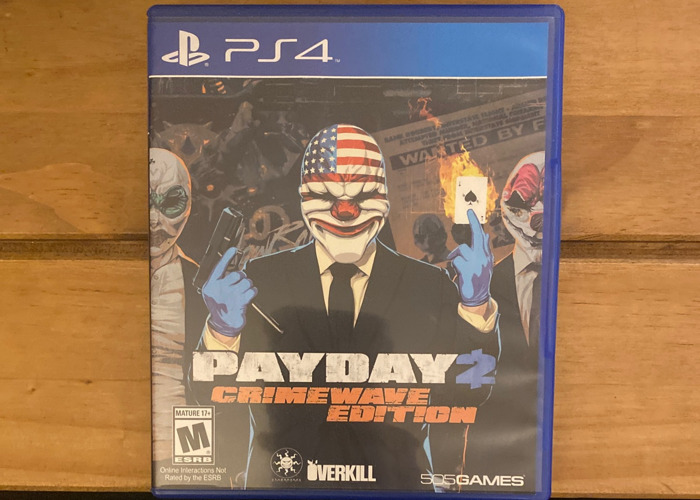 Payday crimewave edition PS4 - 1