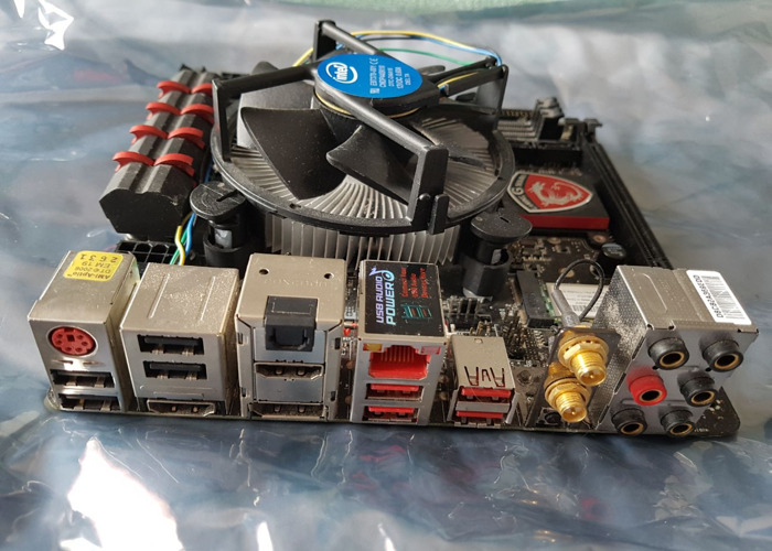 PC Parts (Motherboard and Processor)  - 1