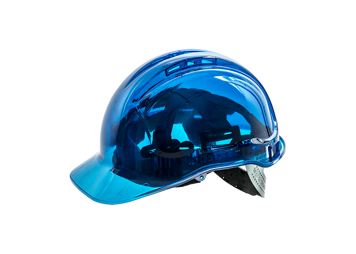 Peak View Helmet  Blue    U - 1