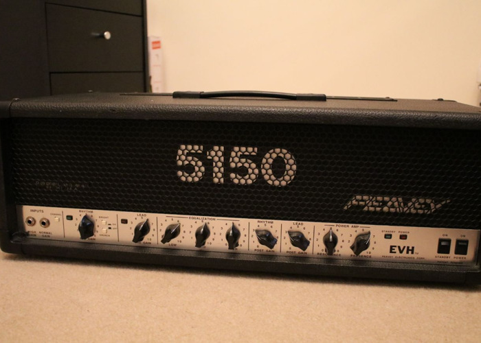 Peavey 5150 Early Block Letter Guitar Amplifier - 1