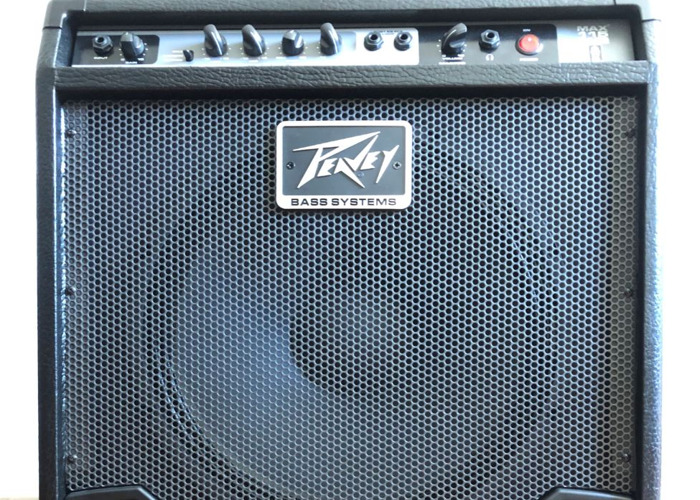 Peavey MAX 115 Bass Combo Guitar Amp - Hugely Versatile - 1