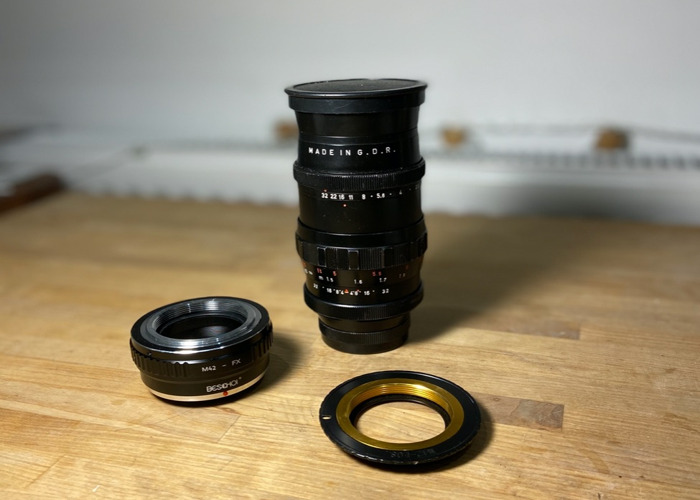 Pentacon 135mm f2.8 for Canon, Fuji and M42 - 1