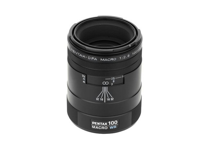 Pentax 100mm f2.8 SMC D-FA WR Macro Lens - 2