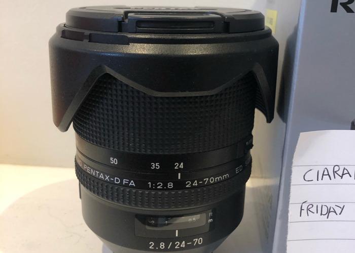 Pentax 24-70 hd dfa lens - pentax k mount - 1