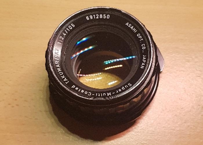 Pentax 67 105 2.4 lens  - 1