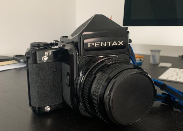 Pentax 67 Medium Format Camera (with 90mm 2.8) - 1