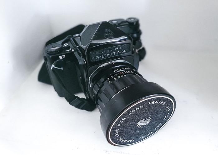 Pentax 67 with 2X Takumar Lenses - 1