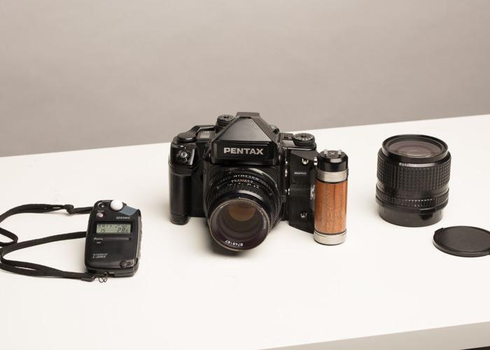 Pentax 67ii + 2 lenses + lightmeter  - 1
