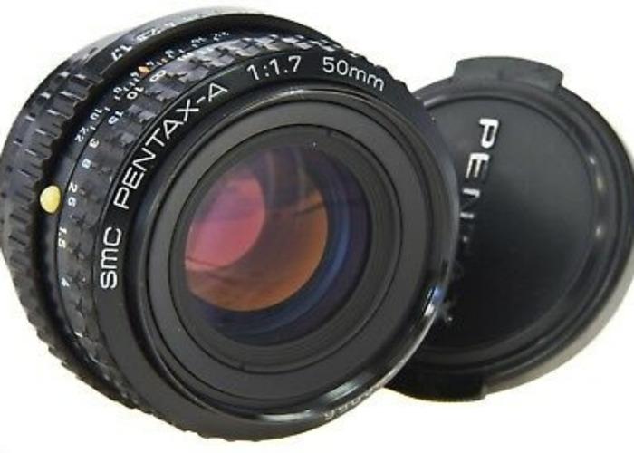 Pentax-A 50mm f1.7 - 1