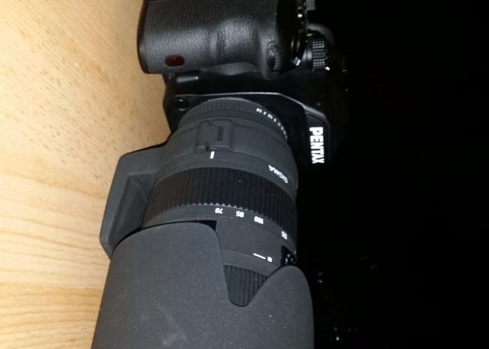 Pentax K1 Body + Sigma APO f2.8 70-200mm Lens - 1