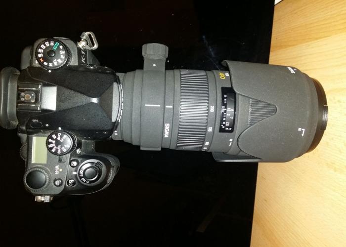 Pentax K1 Body + Sigma APO f2.8 70-200mm Lens - 2