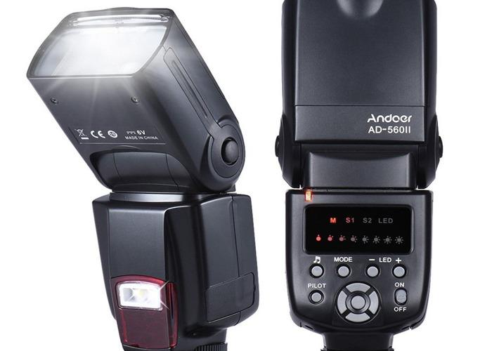 Pentax k-70 + smc 18-135 lens (with detachable flash) - 2
