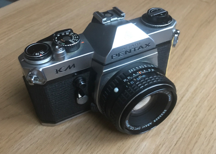 Pentax KM K1000 35mm film camera - 2