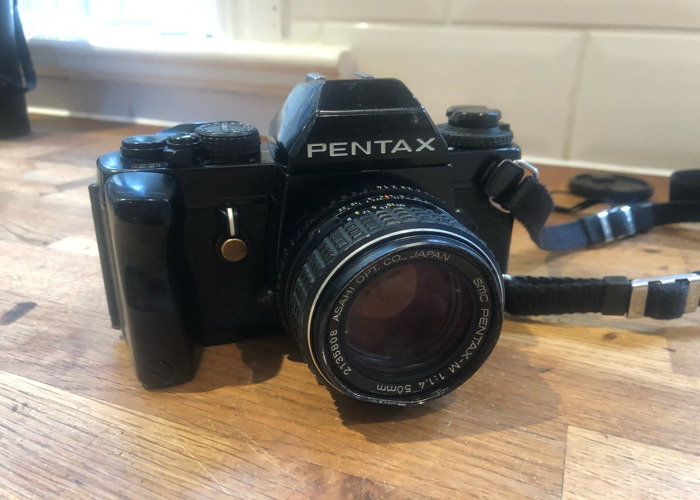 Pentax lx film camera with 1.4 50mm lens 18 19 also - 1