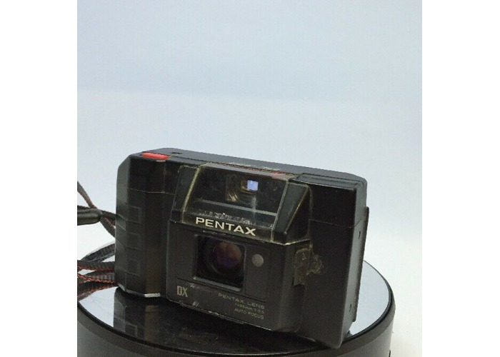 Pentax PC-333 DX Autofocus 35mm Film Camera AF f/3.5 Lens Flash #211 - 1