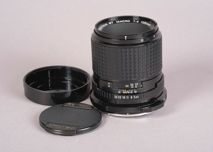 Pentax 67 135mm f4 Macro Lens - 1