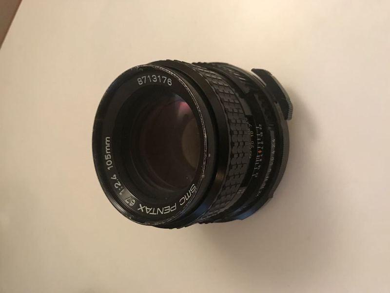 Pentax SMC 67 105mm Lens 2.4 II - 1