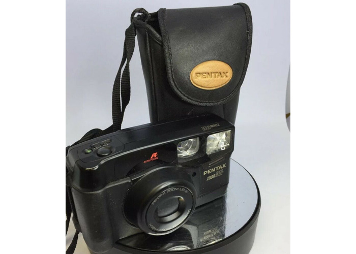 Pentax Zoom 90 38-90mm Zoom AF Compact 35mm Camera Cased TESTED #432 - 2
