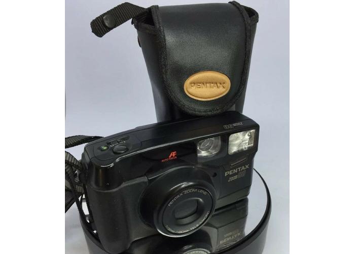 Pentax Zoom 90 38-90mm Zoom AF Compact 35mm Camera Cased TESTED #449 - 1