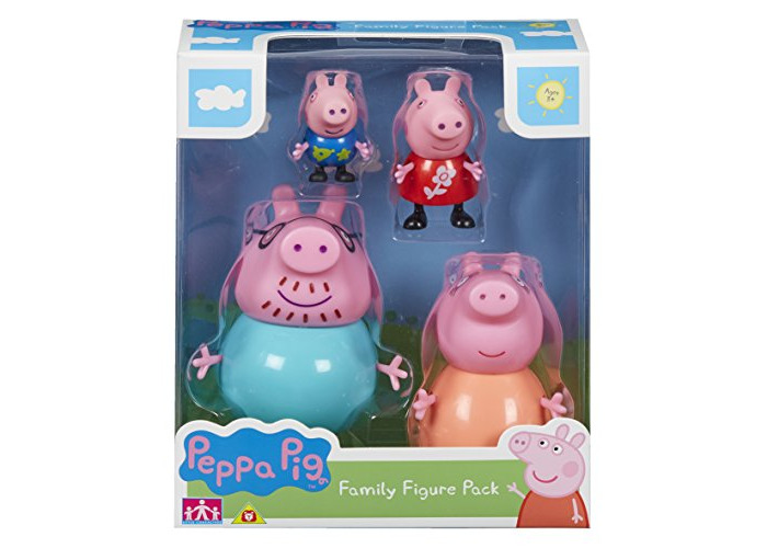 Peppa Pig 06666 Family Figures Pack - 1