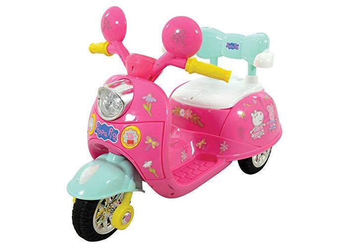 Peppa Pig M09314 6v Trike Ride-On Bike, One Size - 1