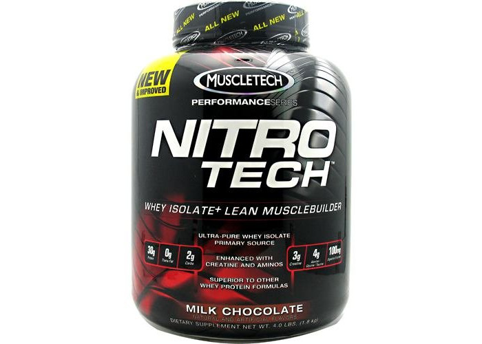 Performance Series, Nitro-Tech, Whey Isolate + Lean Musclebuilder - Muscletech - 1