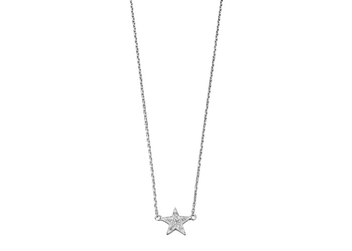 Persona Clear CZ Star Necklace - 1